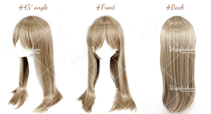 Fulvous Brown Long Straight 70cm-45-front-back.jpg
