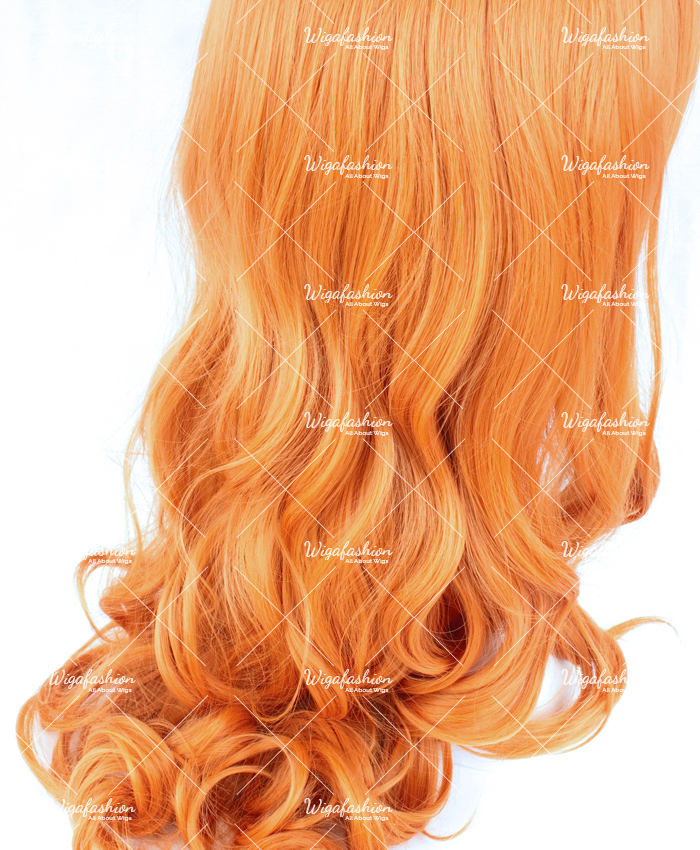 Orange Long Wavy 75cm-3.jpg