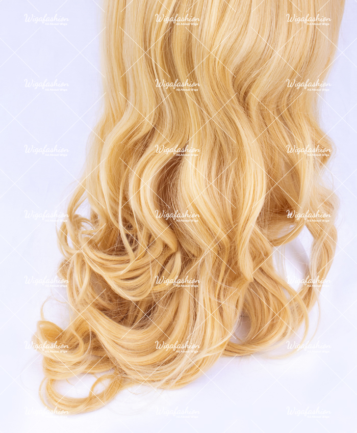 Light Blonde Pink Highlight Long Wavy 65cm-3.jpg