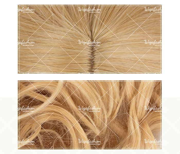 Light Blonde Pink Highlight Long Wavy 65cm-closeup.jpg