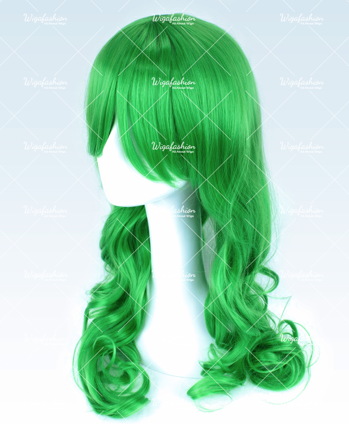 Two Tone Green/Blue Long Wavy 65cm-1.jpg