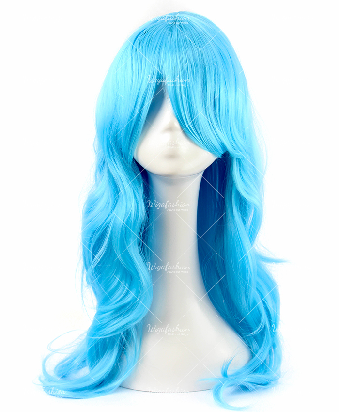 Two Tone Green/Blue Long Wavy 65cm-2.jpg