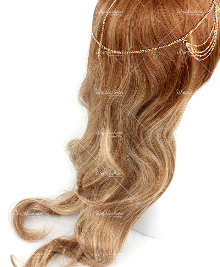 Two Tone Dark Brown/Blonde Long Wavy 70cm-3.jpg