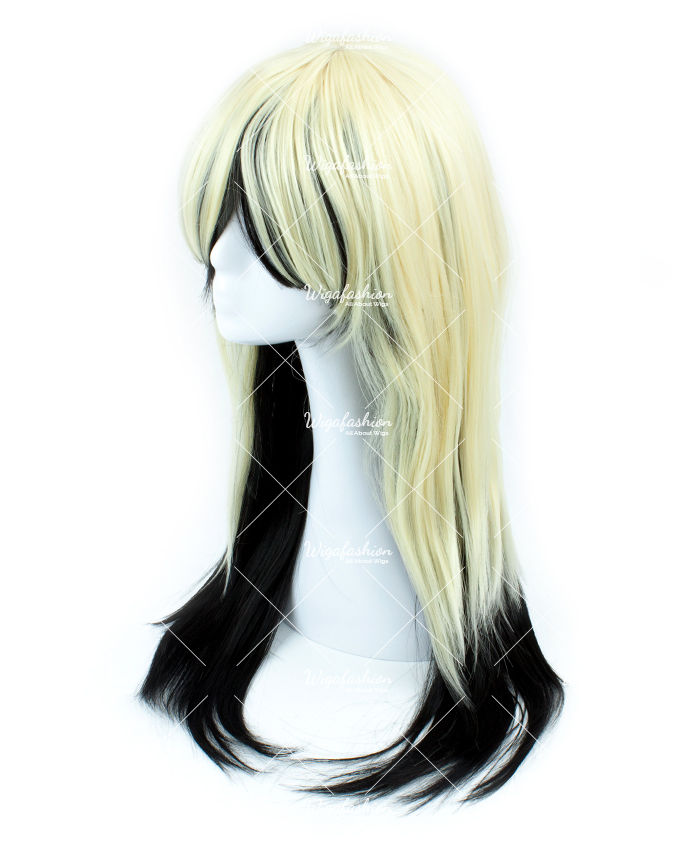 Blonde with Rainbow Tail Long Wavy 75cm-1.jpg