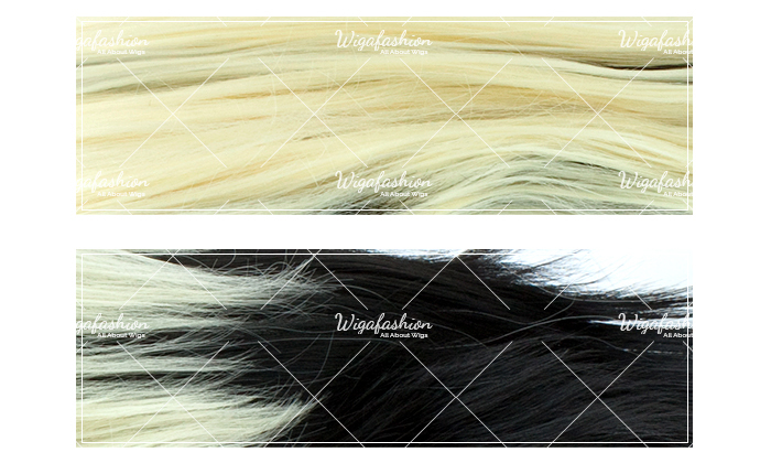 Blonde with Rainbow Tail Long Wavy 75cm-colors.jpg