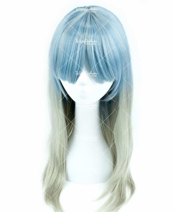 Two Tone Blonde/Blue Long Curl 70cm-2.jpg